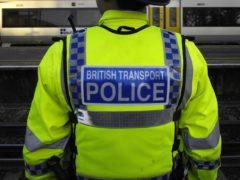 Police were called to the train station on Friday night (Tim Ireland/PA)