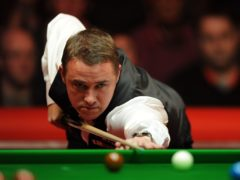 Stephen Hendry will make his comeback in the Gibraltar Open on Tuesday (Andrew Matthews/PA)