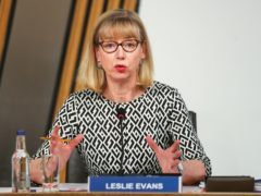 Permanent Secretary Leslie Evans must consider her position, Anas Sarwar has said (Russell Cheyne/PA)