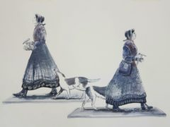 The plans for the statue of Mary Anning. (Mary Anning statue appeal)