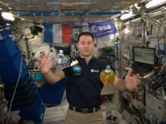 Astronaut looks forward to tucking into French cuisine on space mission (ESA/Nasa)