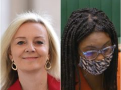 Liz Truss and Kemi Badenoch (PA)