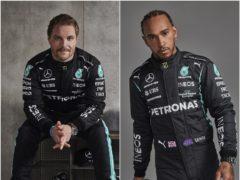 Valtteri Bottas and Lewis Hamilton (PA)