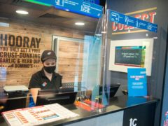 Domino's Pizza enjoyed a boost from Covid as pizza profits and sales increased (Domino's/PA)