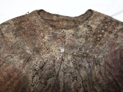 The nightdress discovered with the skeletal remains (An Garda Siochana/PA)