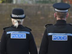 Police broke up the gathering on Thursday night (PA)