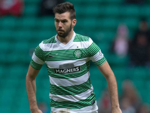 Former Celtic midfielder Joe Ledley, pictured, would like to see Eddie Howe at Parkhead (Jeff Holmes/PA)