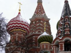 St Basil's Cathedral, in Moscow's Red Square (Ian Nicholson/PA)