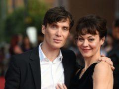 Cillian Murphy and Helen McCrory (Joe Giddens/PA)
