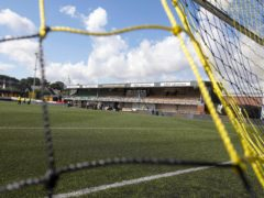 Alloa beat Dunfermline at Recreation Park (Jeff Holmes/PA)