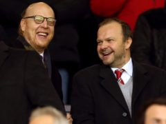 Joel Glazer (left) hailed the European Super League (Martin Rickett/PA)