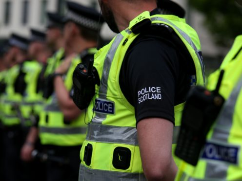 A 27-year-old man has been arrested and charged in relation to the incident (Andrew Milligan/PA)