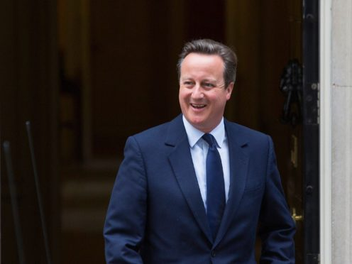 David Cameron lobbied the head of the Treasury and the Bank of England deputy governor (Rick Findler/PA)