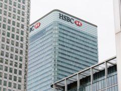 HSBC will scrap its executive floor and have hotdesking throughout (Matt Crossick/PA)