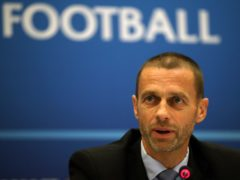 UEFA president Aleksander Ceferin has backed the direct action of a united sporting front (Nick Potts/PA)