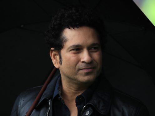 Sachin Tendulkar is back at home after being hospitalised due to coronavirus (Mike Egerton/PA)