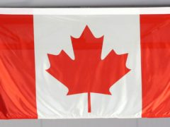 A general view of the flag of Canada (Danny Lawson/PA)