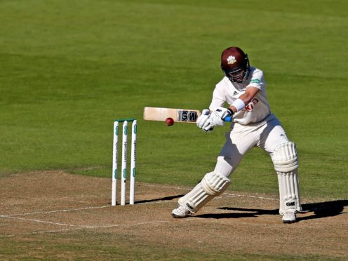 Ollie Pope hit 245 for Surrey in their LV=Insurance County Championship match with Leicestershire (Steven Paston/PA)