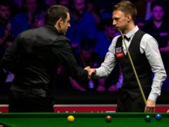 Judd Trump hopes he can one day take on Ronnie O'Sullivan in the Crucible final (Steven Paston/PA)