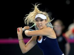 Katie Boulter made a winning return to Great Britain action (Adam Davy/PA)