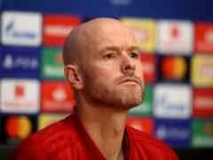 Ajax head coach Erik ten Hag has signed a new contract with the Dutch club (Adam Davy/PA)