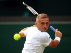Dan Evans pulled off a brilliant win over Novak Djokovic (Adam Davy/PA)