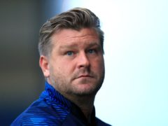Oxford manager Karl Robinson claims his goalkeeper was headbutted at half-time of Friday's match at Sunderland (Adam Davy/PA)