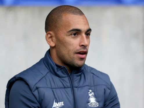 James Vaughan is recovering from a knee injury (Richard Sellers/PA)