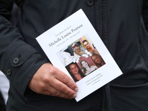 Michelle Pearson died 20 months after the attack (Danny Lawson/PA)