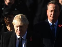 Boris Johnson has commissioned a review into former prime minister David Cameron's lobbying on behalf of Greensill Capital (Victoria Jones/PA)