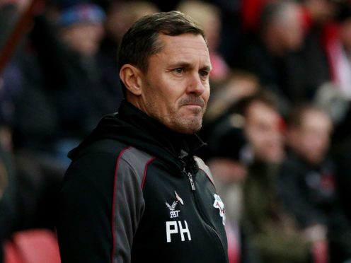 Paul Hurst sees no point in complaining officially about referees' decisions (Jonathan Brady/PA)