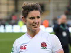 England women's rugby captain Sarah Hunter has backed the social media boycott (Mark Kerton/PA)