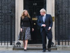 The Prime Minister and his fiancee Carrie Symonds have faced questions over the funding of their renovations to the 11 Downing Street flat (Victoria Jones/PA)