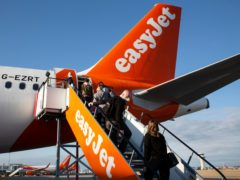 Most popular European holiday destinations such as Spain, Italy, Greece and Portugal should be on the Government's 'green list' for foreign travel, according to the boss of easyJet (Matt Alexander/PA)