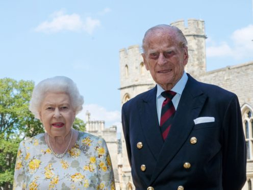 The Queen and Philip pictured to mark his 99th birthday (Steve Parsons/PA)