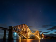 Forth Bridge in South Queensferry (Jane Barlow/PA)