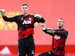 Dean Henderson and David De Gea are battling to start (Richard Heathcote/PA)