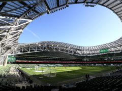 The Aviva Stadium in Dublin could be stripped of its Euro 2020 hosting rights later this month (PA)