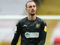Will Keane opened the scoring for Wigan at Shrewsbury (Steven Paston/PA)