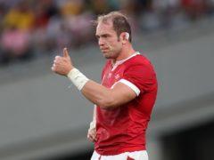 Wales captain Alun Wyn Jones (PA)