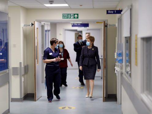 BMA Scotland has urged Scotland's politicians to prioritise the welfare and wellbeing of staff in the recovery of the NHS (Russell Cheyne/PA)