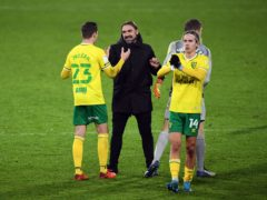 Norwich head coach Daniel Farke will be determined to hold onto the likes of midfielder Todd Cantwell (right) (Joe Giddens/PA)