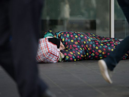 Robert Jenrick indicated to Parliament that the Vagrancy Act would be scrapped (Nick Ansell/PA)