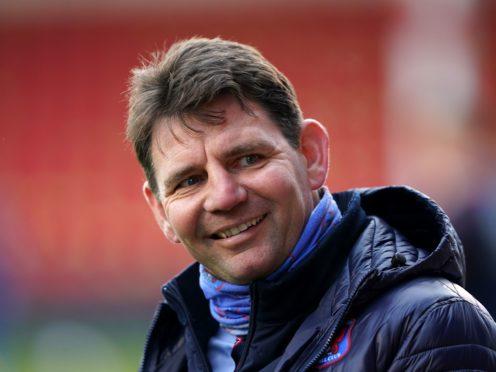 Carlisle manager Chris Beech (Zac Goodwin/PA)