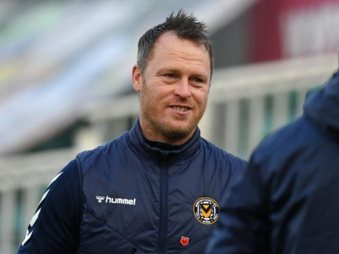 Michael Flynn's Newport beat Crawley (Simon Galloway/PA)