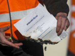 The GMB union has condemned the 'mass sackings' of British Gas engineers amid a long-running dispute with Centrica over pay and conditions (Steve Parsons/PA)