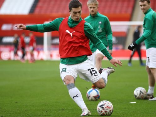Conor Grant could feature for Plymouth against Sunderland (Tim Goode/PA)