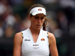 Johanna Konta will not be part of Great Britain's squad for the Billy Jean King Cup tie against Mexico later this month (Victoria Jones/PA)