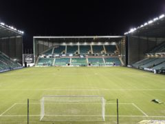 Hibernian return to Easter Road against Livingston (Ian Rutherford/PA)