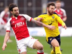 Charlie Mulgrew, left, is expected to be out for the rest of the season (Tess Derry/PA)